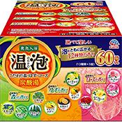 アース製薬温泡 ONPO 炭酸湯入浴剤 5種セット