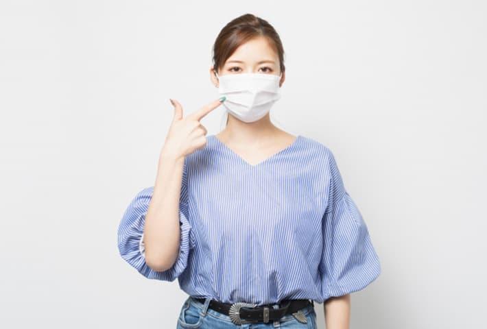 マスクの肌荒れ対策その1:マスクに一工夫しよう
